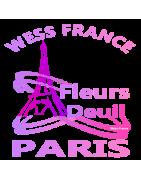 RAQUETTES DE FLEURS DEUIL PARIS